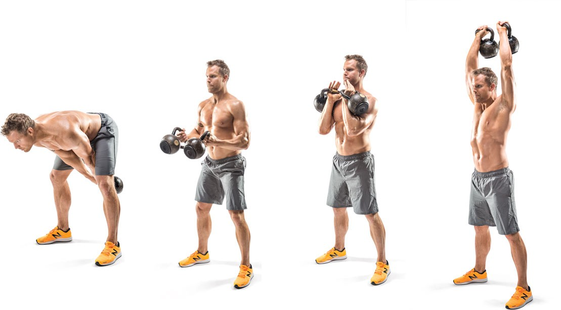 6 Muscle Building Kettlebell Exercises To Build Muscle And