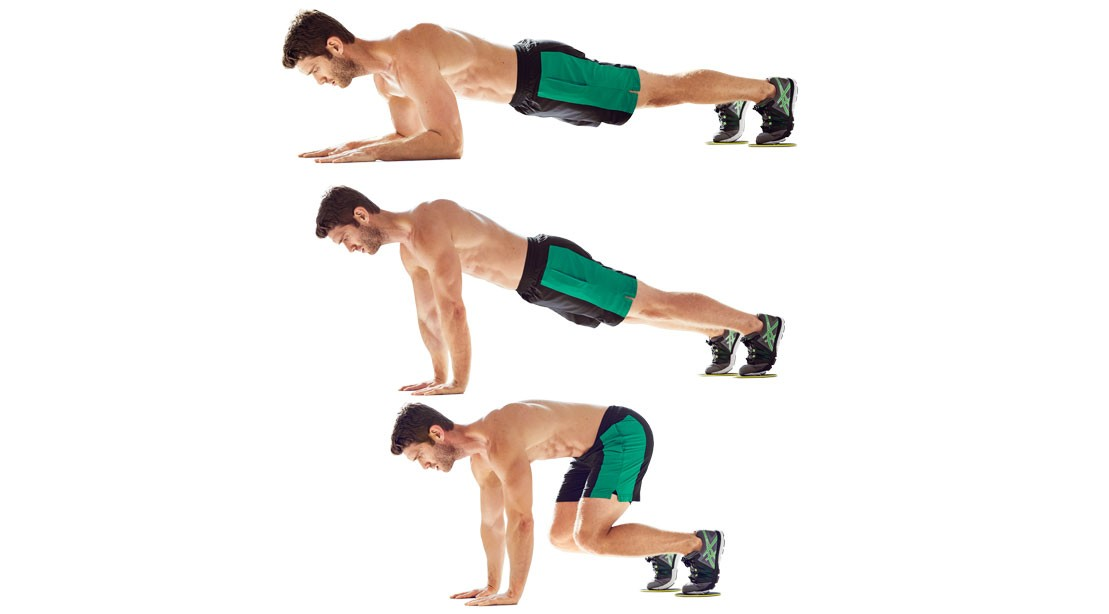 Knee-In Pushup