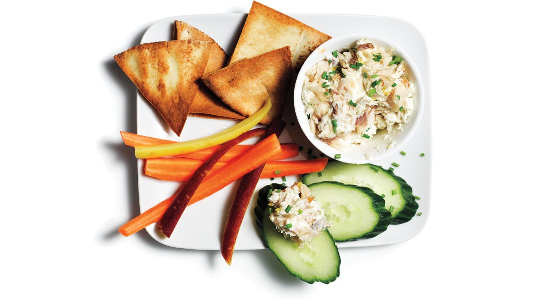 Lemon-Infused Smoked Trout Spread