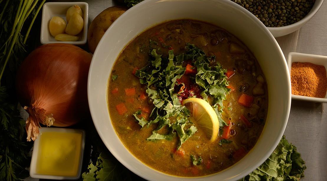 Lentil and Kale Soup