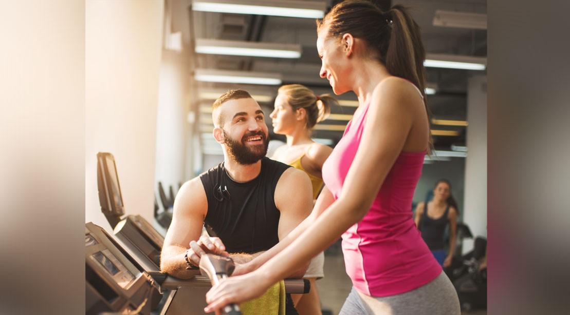 Man Woman Gym