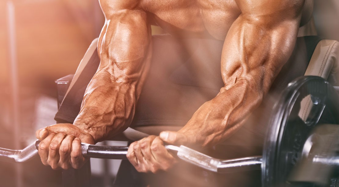 9 Exercises For Building Bigger More Ripped Forearms Muscle Fitness