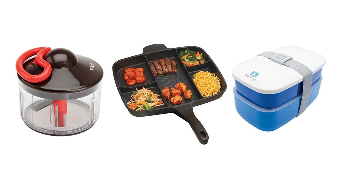 Masterpan, T-Fal Chopper, Bentgo Box