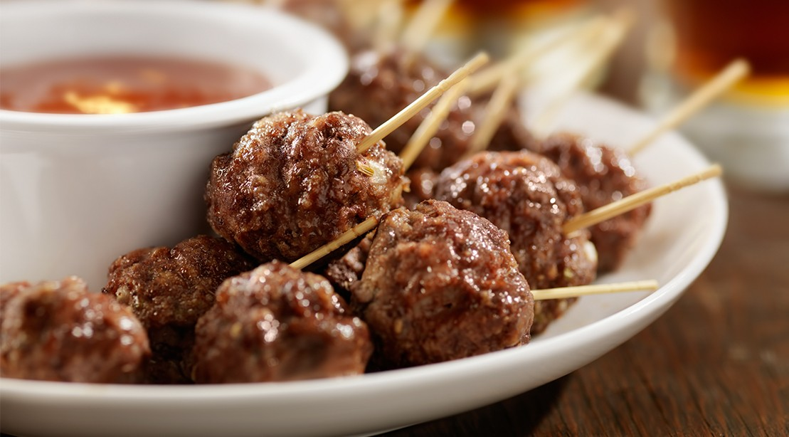 Spicy Meatballs Recipe With Balsamic Soy Sauce Muscle