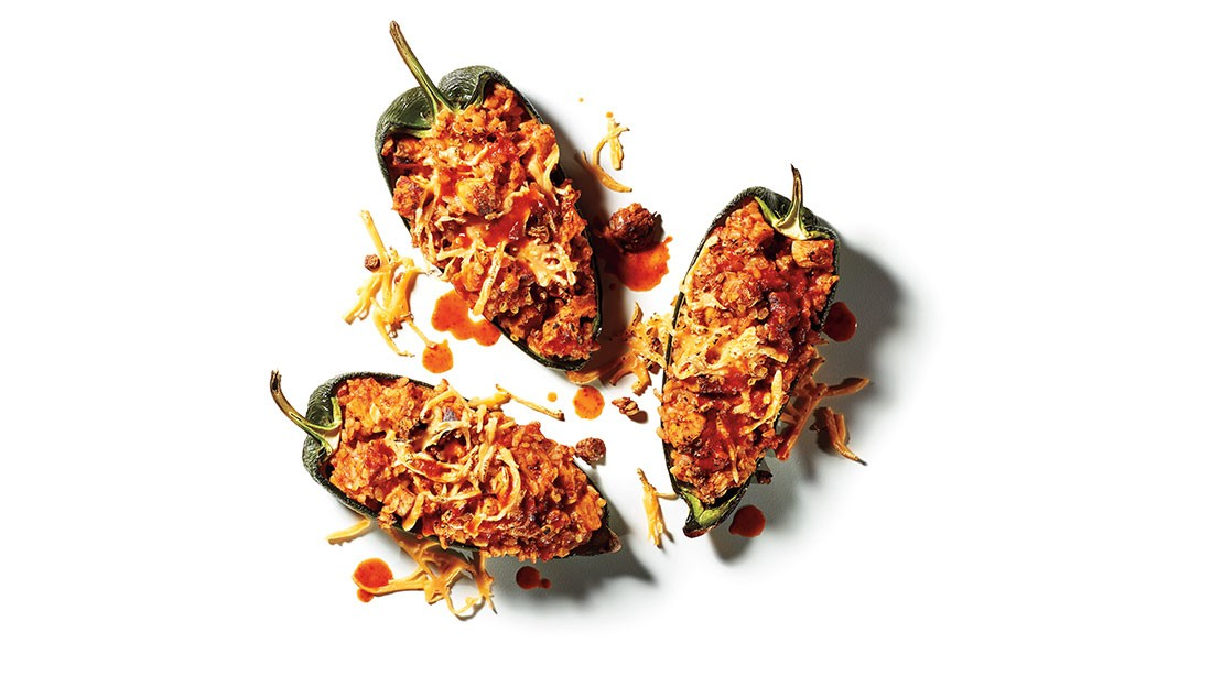 Mexicali Stuffed Peppers