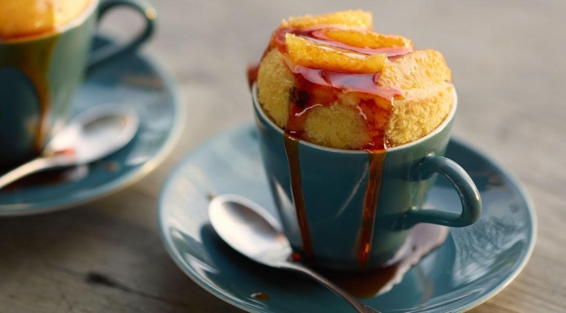 Cake-in-a-Cup Recipe