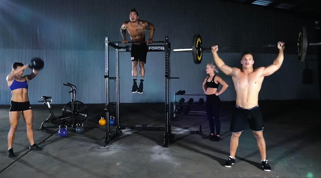 MyRack home gym training system