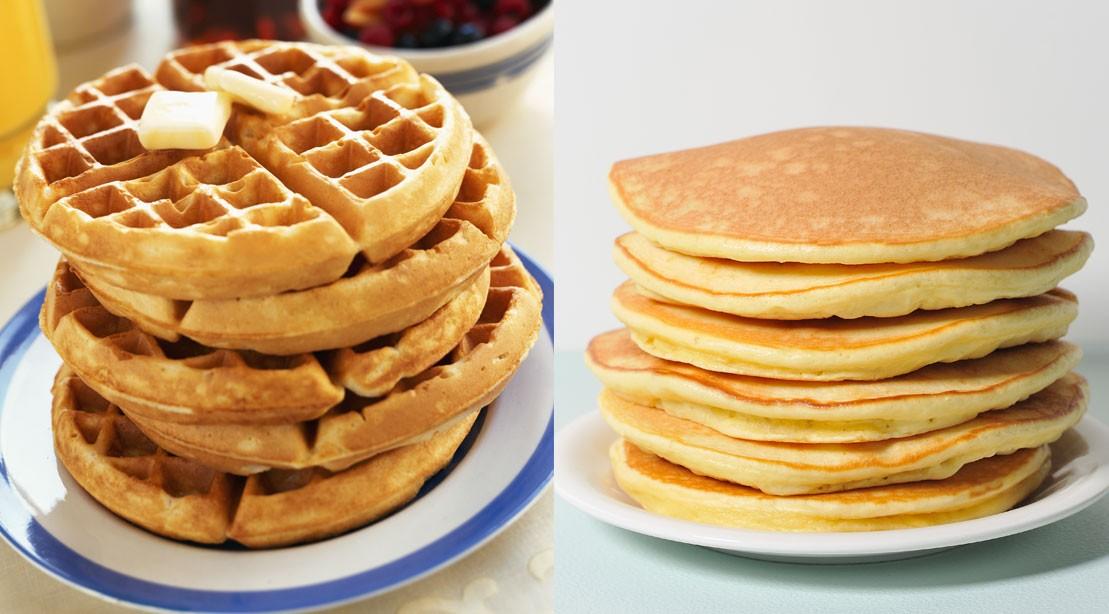 Pancake vs Waffle