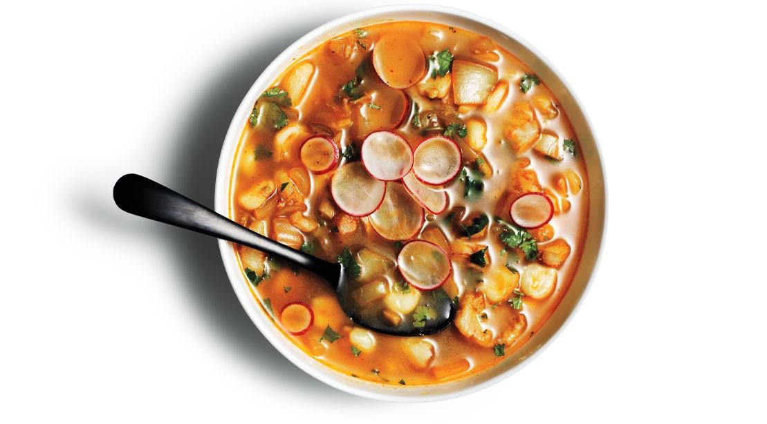 Pescatarian Posole Stew