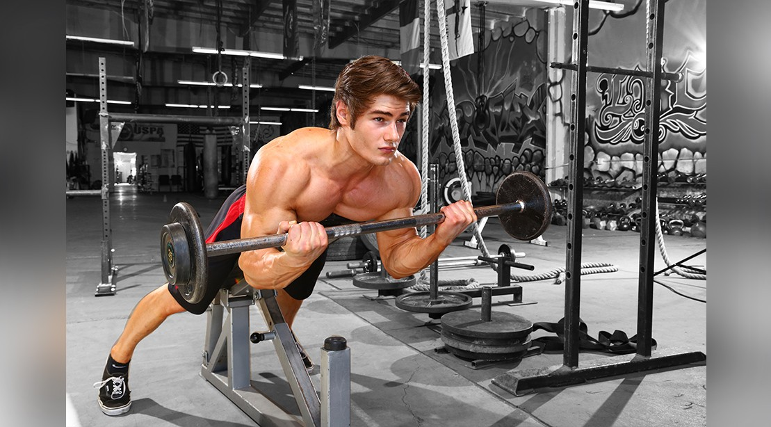 Prone Incline Biceps Curl