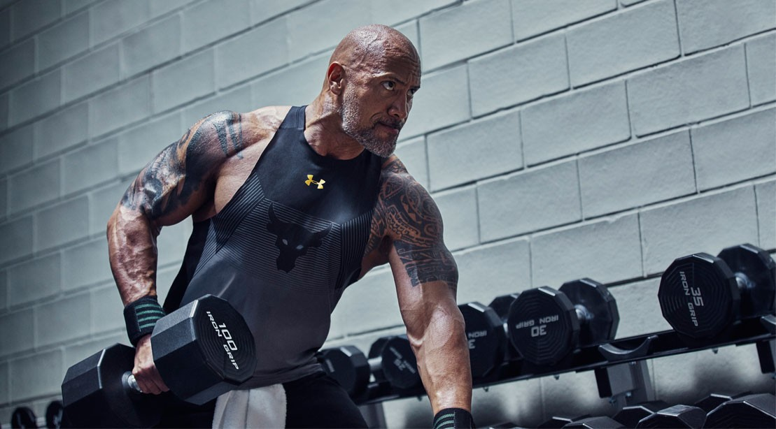 6bed284ea Dwayne 'The Rock' Johnson Launches New 'Chase Greatness' Under ...