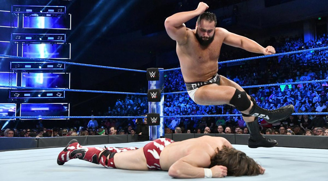 Rusev vs. Daniel Bryan on SmackDown Live on Tuesday, May 8, 2018