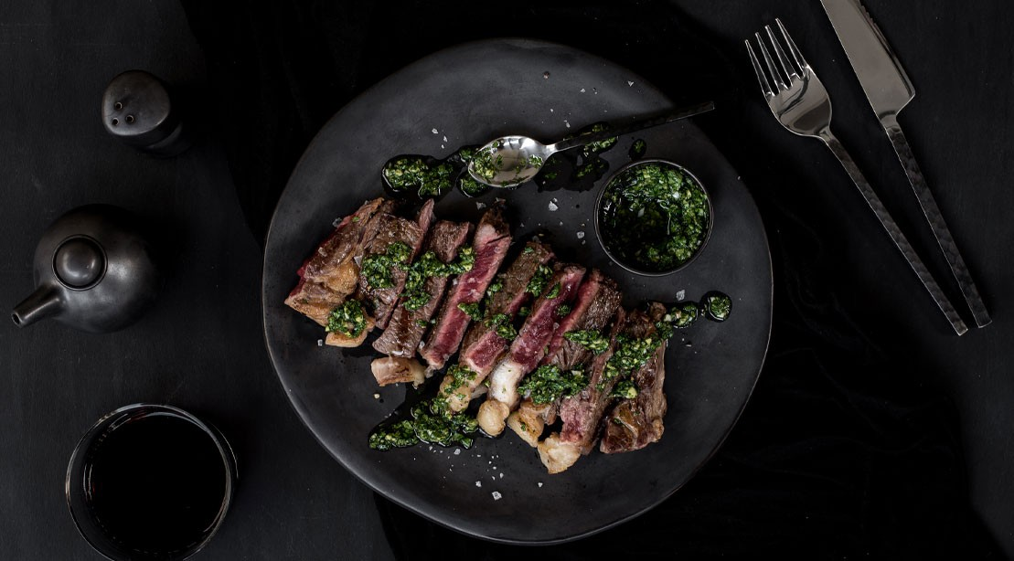 Seared And Slow-Roasted Sirloin of Beef