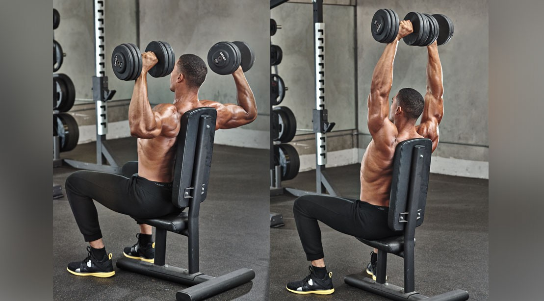 1109 seated military press