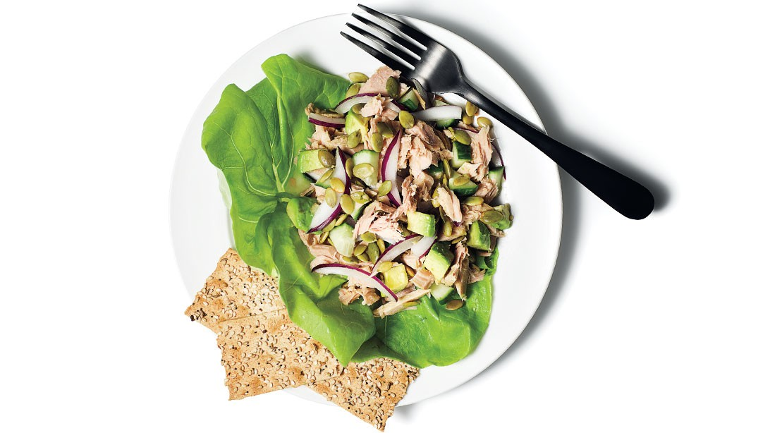 Simple Tuna and Avocado Salad