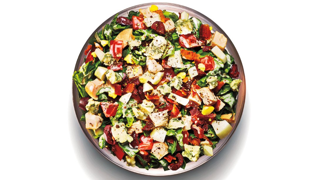 Recipe: How To Make Spinach Cobb Salad