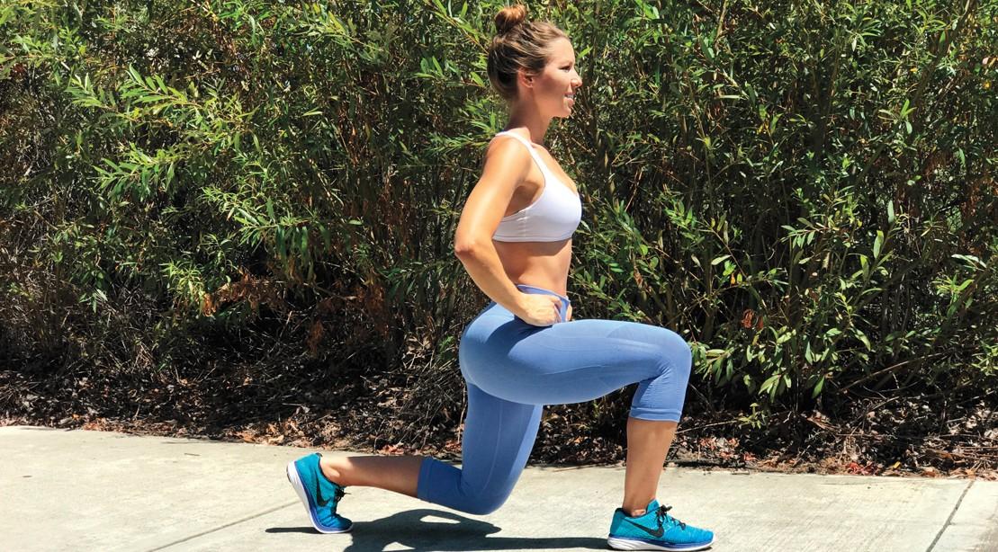 Bodyweight Split Squat