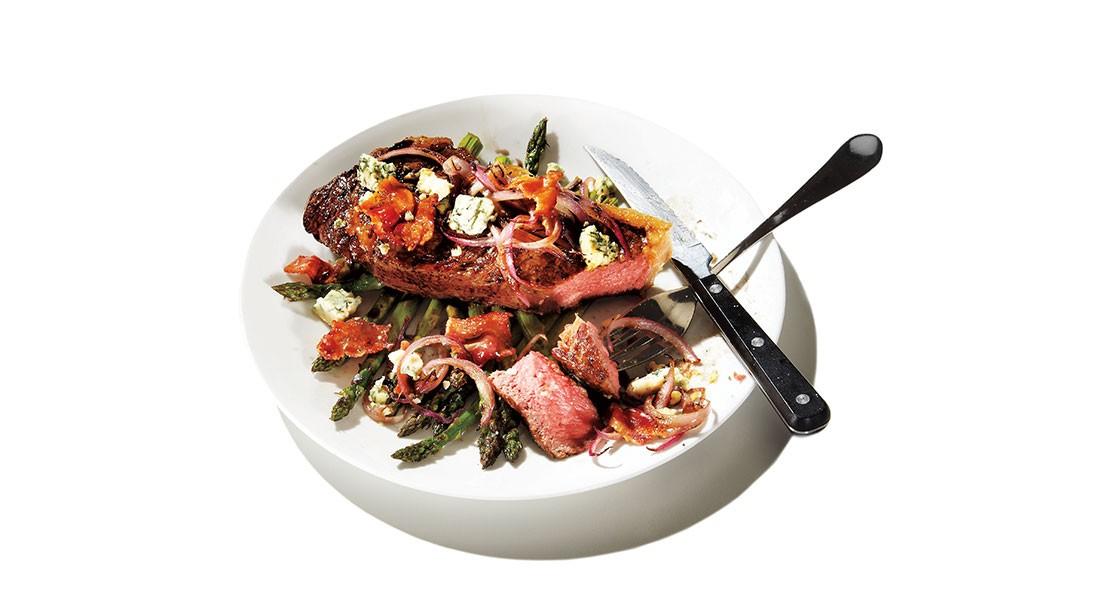 Steak Bleu cheese Salad