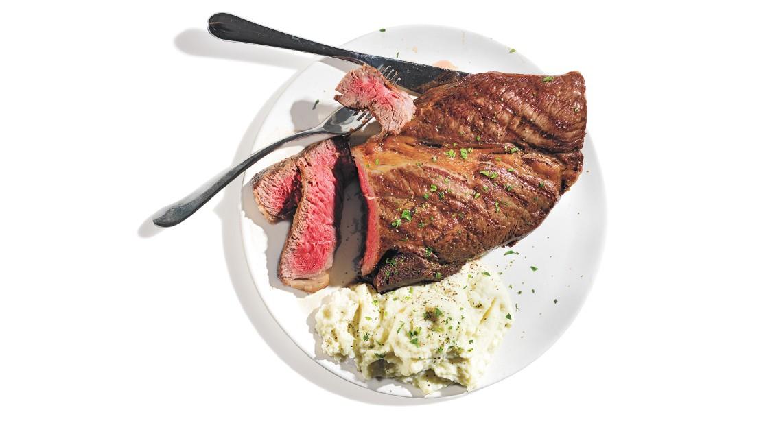 Steak and Mash