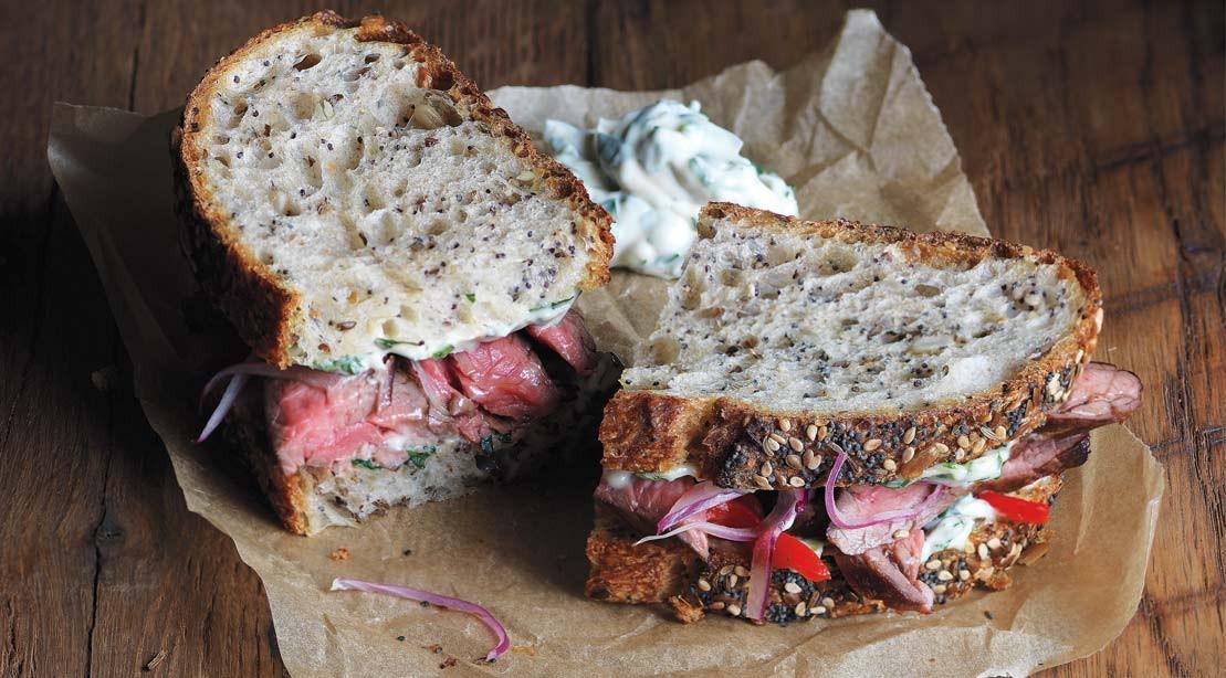 Recette: Comment préparer un sandwich au steak Chimichurri