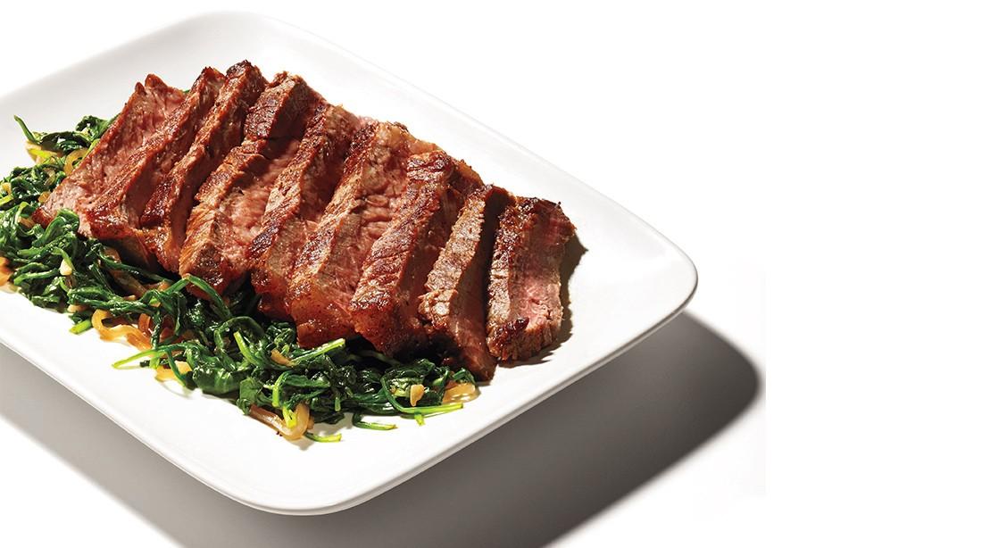 Roasted New York Strip Steak