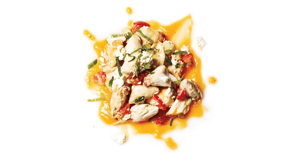 Sweet Potato Crab Salad