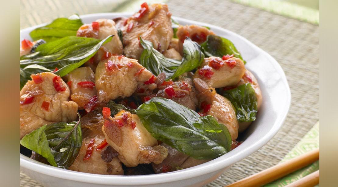 Thai Holy Basil Chicken