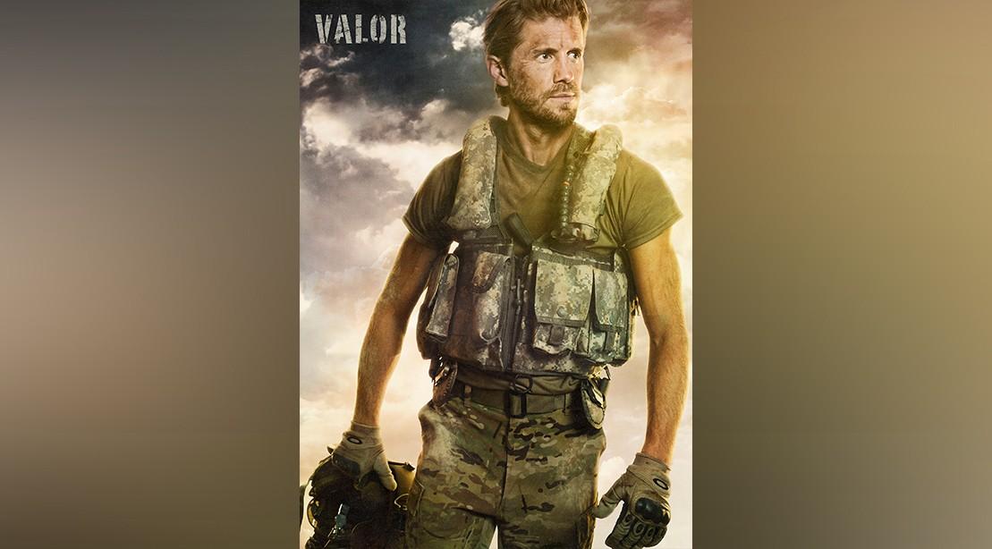 Matt Barr in TV show Valor
