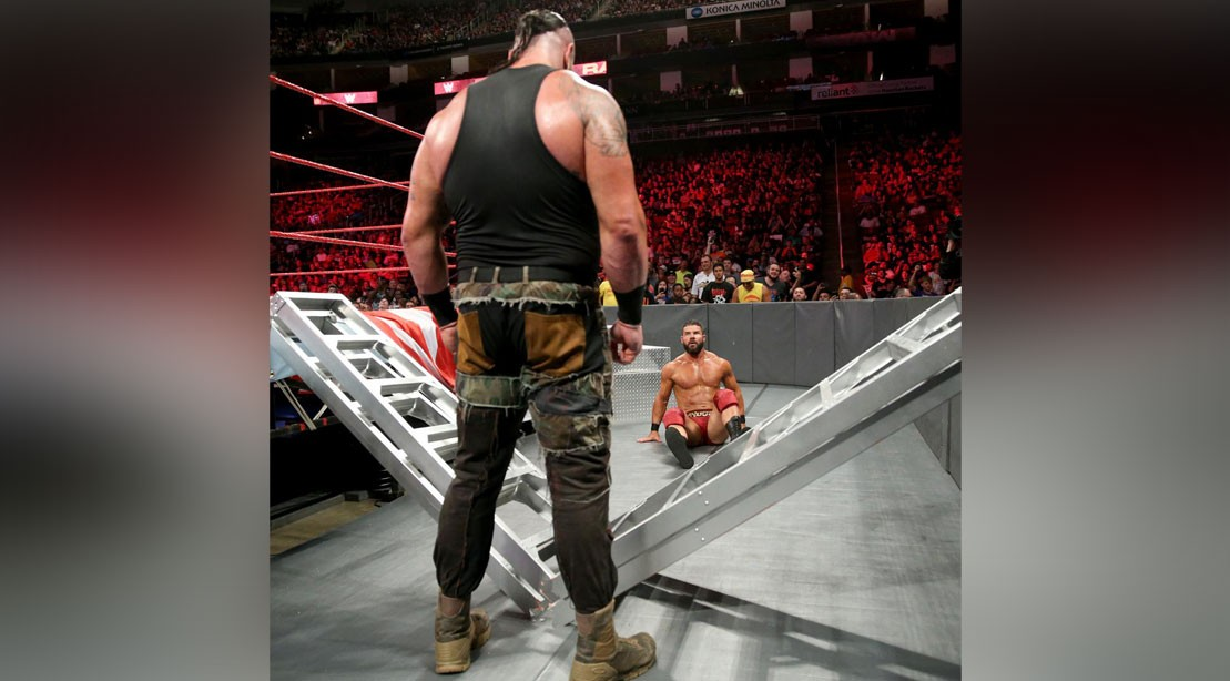 Braun Strowman faces Bobby Roode on WWE Raw on 4 June 2018