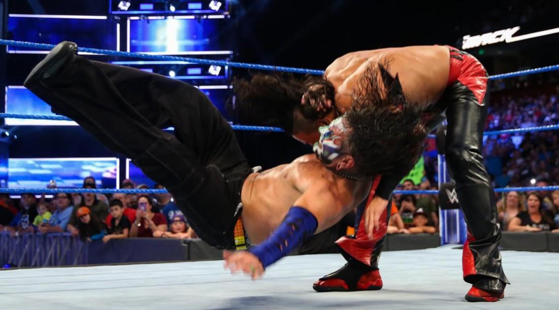 'Smackdown' Recap: Shinsuke Nakamura Attacks Jeff Hardy, Samoa Joe Taunts AJ Styles