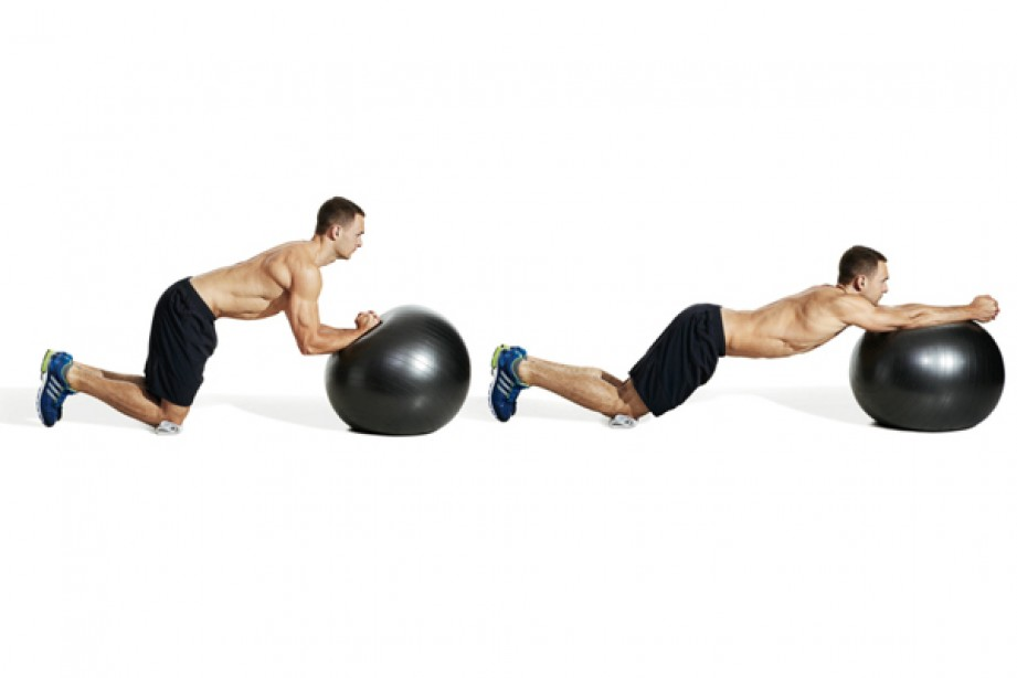 50 Core Exercises That Use a Ball
