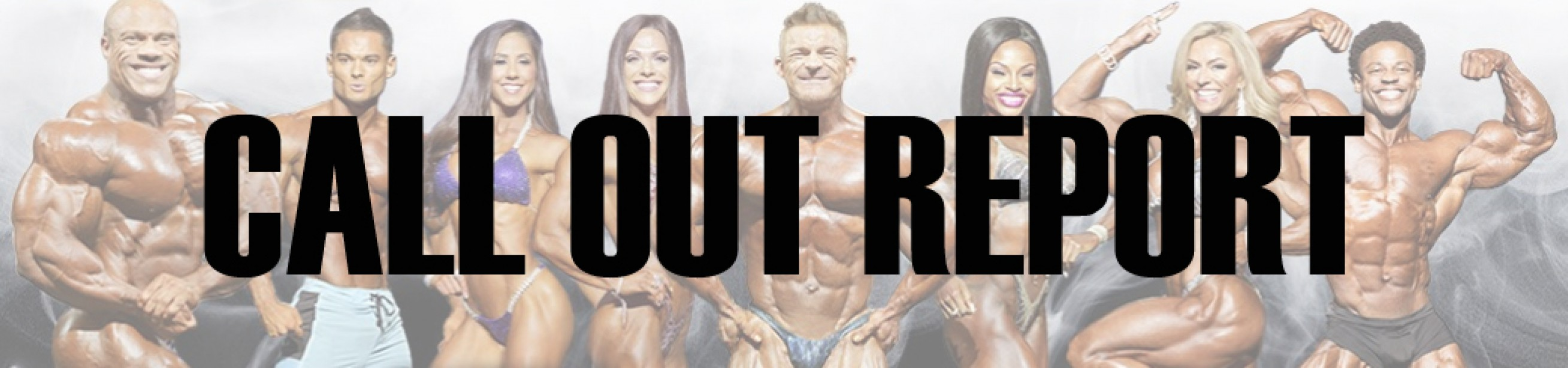 2018 Olympia Pre-Judging Call Out Report