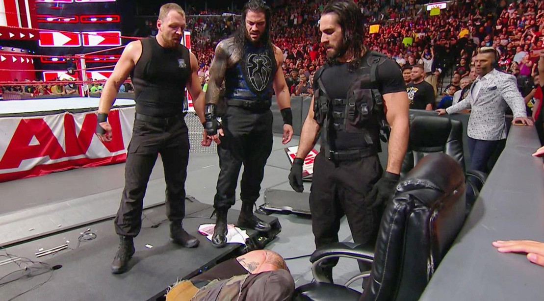 WWE 'Raw' Recap: 'The Shield' Reunite to Stop Braun Strowman's 'Money in the Bank' Cash-in