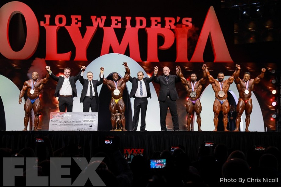 2019 Olympia Finals Report