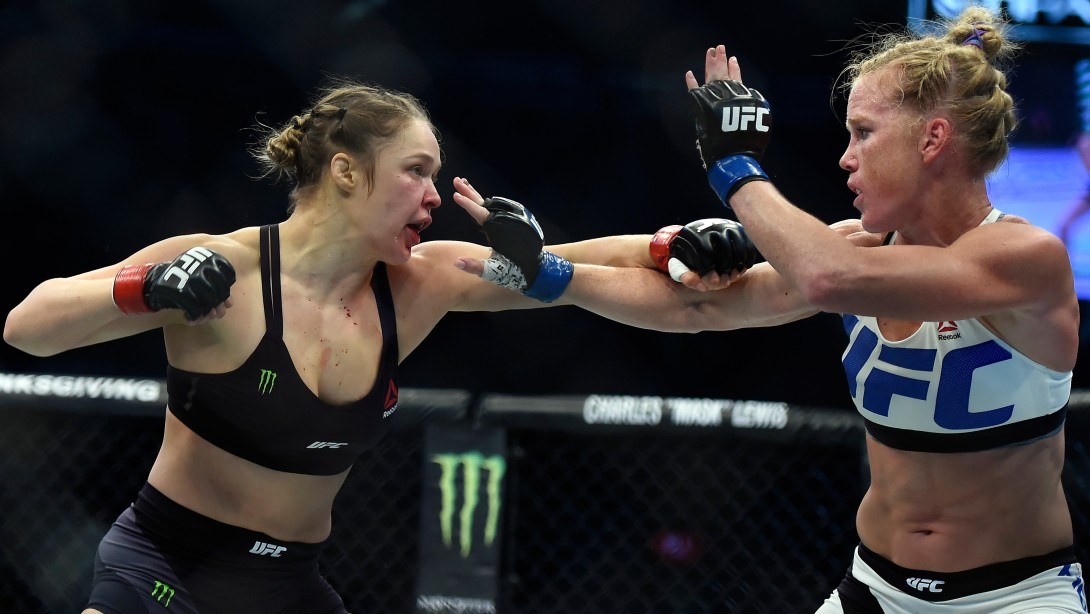 "Rousey Says About Her Loss To Holm: ""I'm Really F@%&ing Sad."""