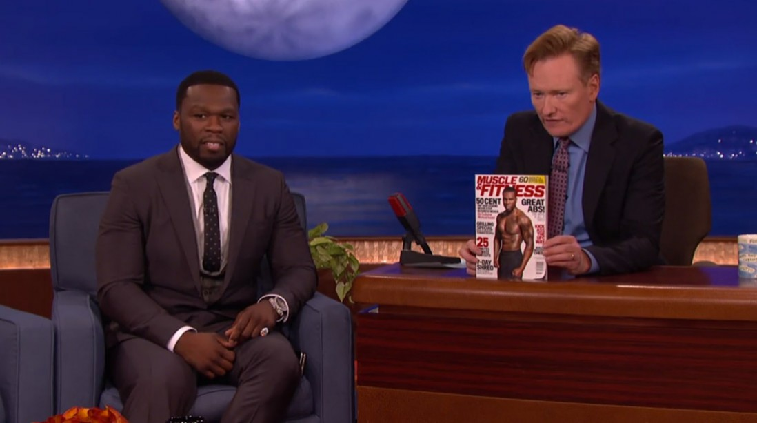 50 Cent on Conan: 'We Grown and Sexy'