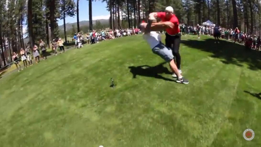 A.J. Hawk Celebrity Golf Event
