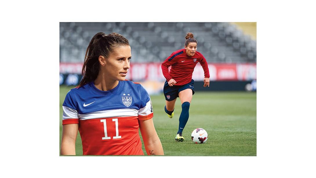 327b82896 Soccer Athlete Ali Krieger Shares Her Fitness Tips. Pro soccer star  Alexandra ...