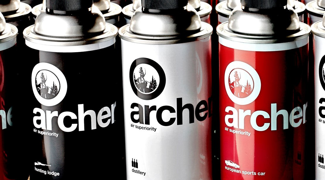 Archer dishwashing soap.