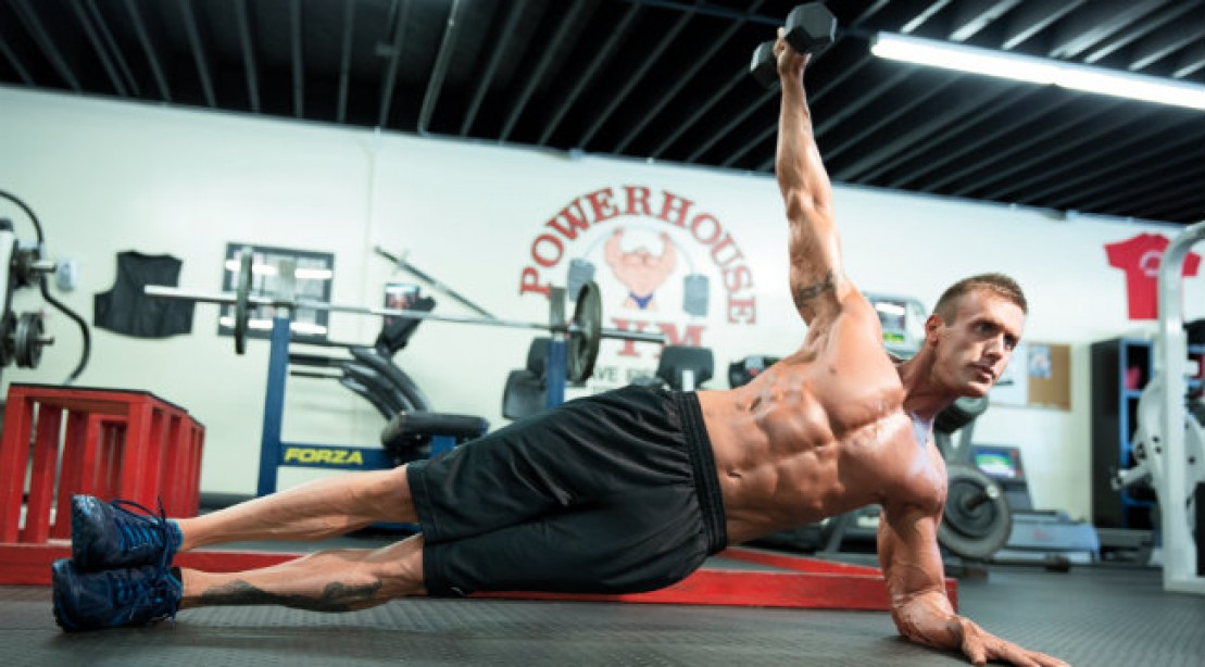 abs and delt exercise