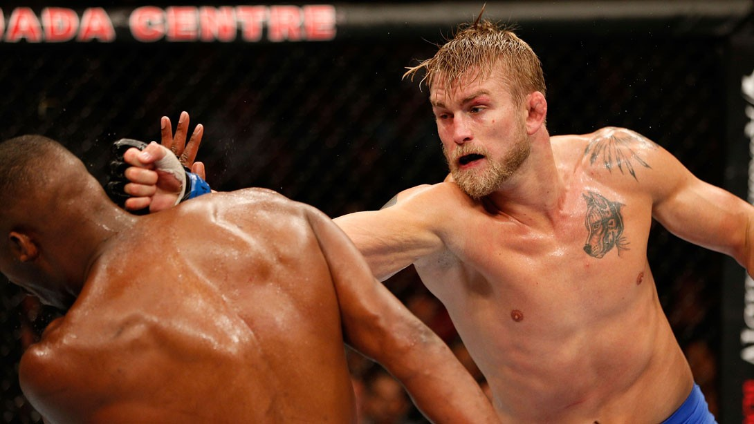 UFC 192's Alexander Gustafsson Title Fight Training