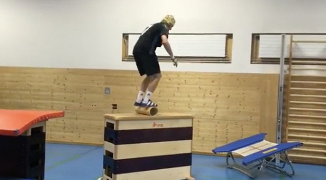 WATCH: Hyperathlete Andri Ragetti Effortless Glides Over Impossibly Difficult Obstacle Course