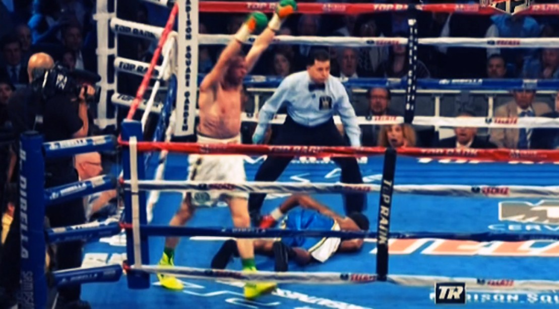 Andy Lee Knocks Out John Jackson