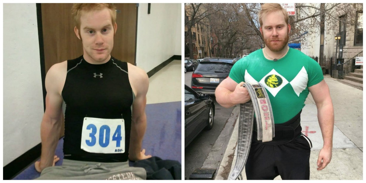 Andy McCord Went From Dancer, To Overweight, To Strongman