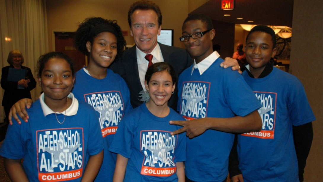 Three Times Arnold Schwarzenegger KILLED IT to Support After-School Programs