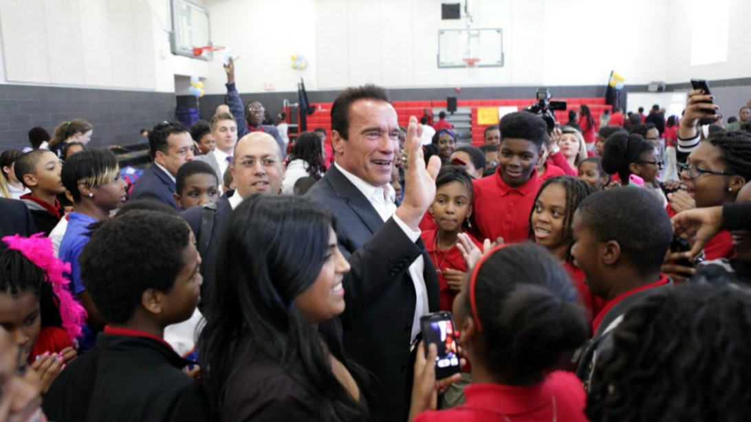 Arnold's Influence on After-School All-Stars