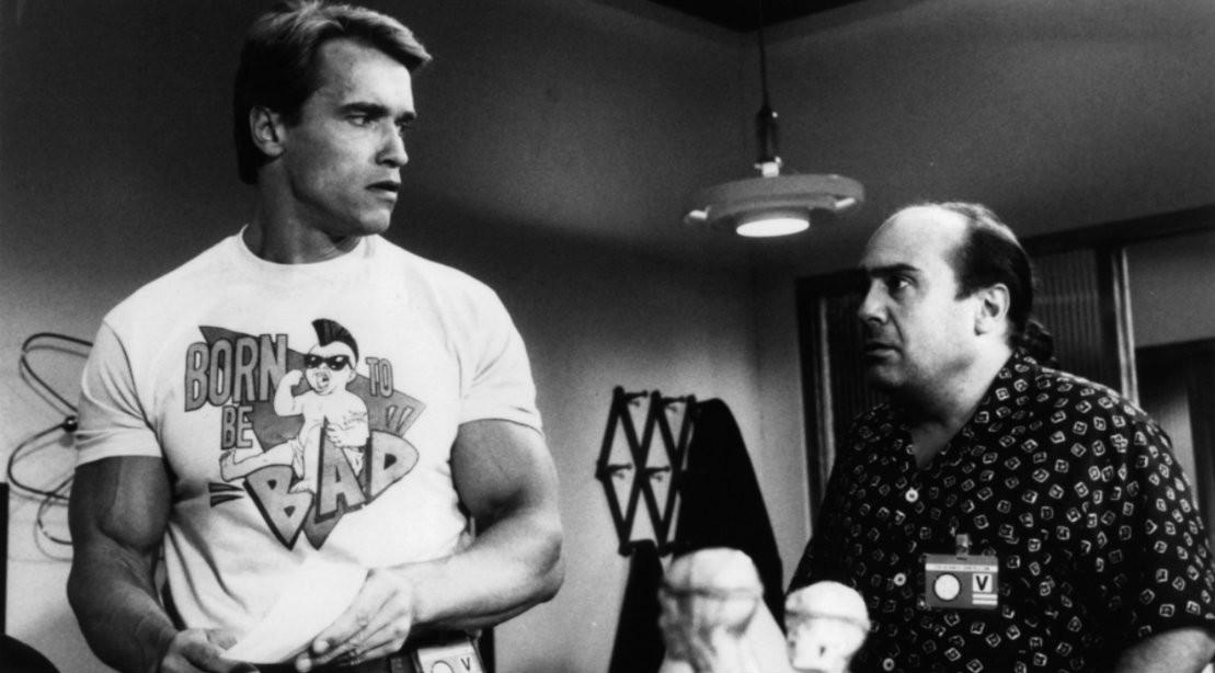 Arnold Schwarzenegger and Danny Devito in 1988 movie Twins