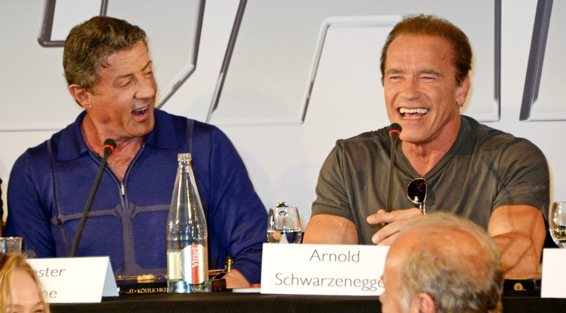 Arnold Schwarzenegger Duped Stallone Into Taking One of Worst Movies Ever