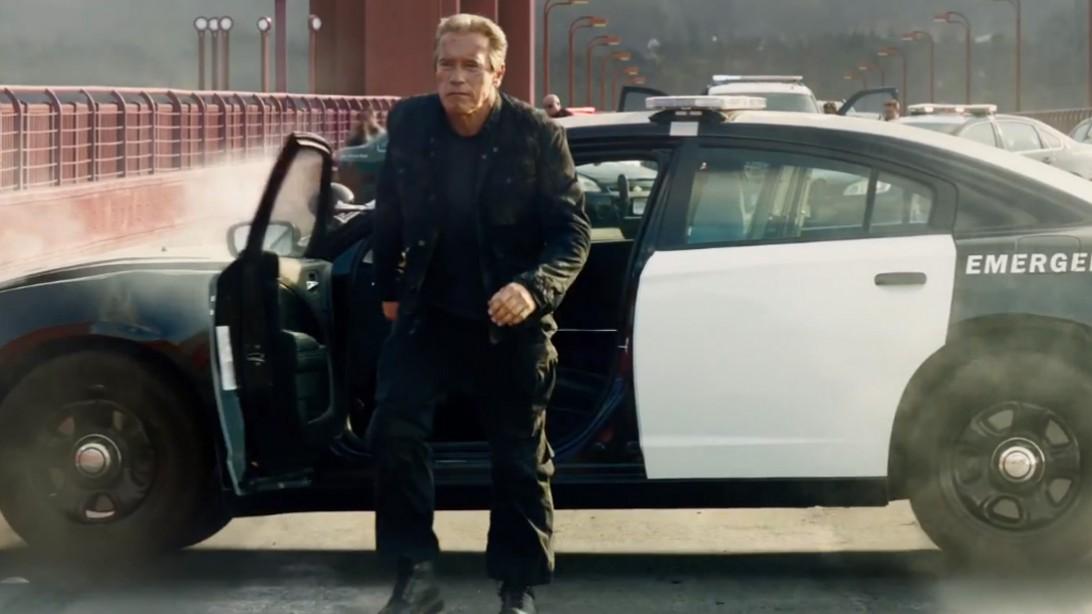 Arnold Schwarzenegger Terminator Super Bowl Ad