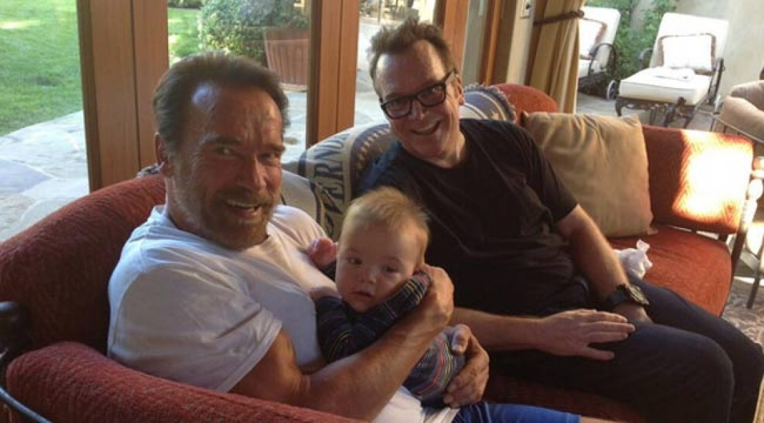 Tom Arnold Drops Serious Weight Working out With Arnold